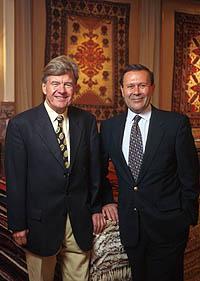 Ferdi Besim und Fritz Langauer
